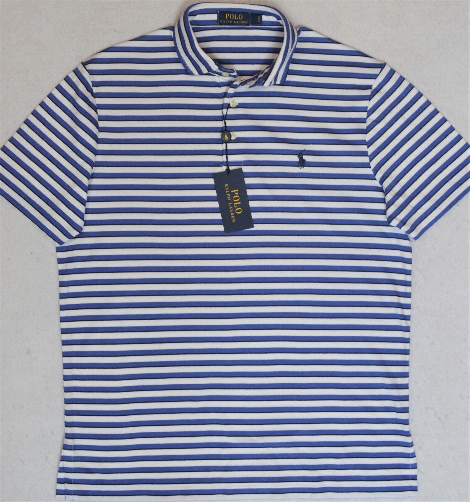 Polo Ralph Lauren Shirt Pima Soft Touch Striped 2XB 2XLT 3XB NWT