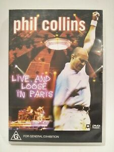 Phil-Collins-Live-And-Loose-In-Paris-Dvd-Region-2-3-4-5-6-VGC