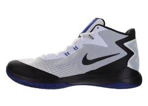 96c56ae8f25f Nike Zoom Evidence Basketball shoes SZ 11.5 White Black Blue- 852464 ...