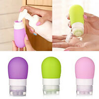 Travel Packing Bottle Silicone Press Bottles For Lotion Shampoo Bath Container