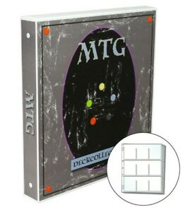 25 Pages Included Holds up to 450 Cards Magic the Gathering Themed Card Case