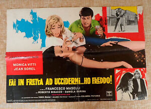 Kill Me Quick Im Cold, Photobusta, First Edition, Italian, Folded, Jean Sorel - España - Kill Me Quick Im Cold, Photobusta, First Edition, Italian, Folded, Jean Sorel - España