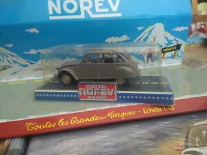 NOREV-1-43-JET-CAR-SERIE-700-MADE-IN-FRANCE-CITROEN-2CV-GRISE-NEUF-EN-BOITE