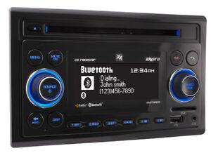 Dual-Axxera-Double-2-DIN-AM-FM-CD-Bluetooth-USB-HD-SD-iPhone-Car-Stereo-amp-Remote