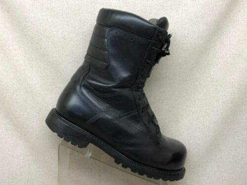 Thorogood Black Leather Composite Toe Millitary Bo