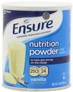 Ensure Nutrition Drink Powder Vanilla Flavor 14 Oz Can