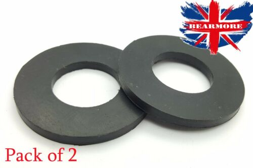 Washers Gasket seal 10mm thick ID30 x OD60 Solid Neoprene Rubber Washer