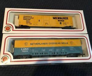 2-Bachmann-HO-Train-Cars-New-in-Box