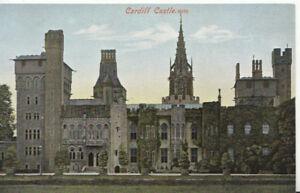Wales-Postcard-Cardiff-Castle-Glamorgan-Ref-1402A
