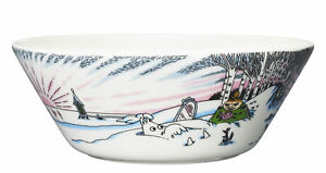 Moomin Bowl Spring Winter Seasonal 2017 Arabia
