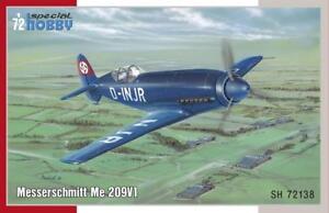 Special-Hobby-72138-Messerschmitt-ME-209V-1-1-72-Modellbau-Flugzeug