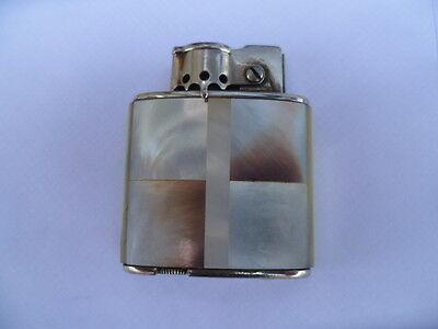 Semi Automatic Petrol Wick Pocket Lighter called the Queenie Austrian c1940 N/R