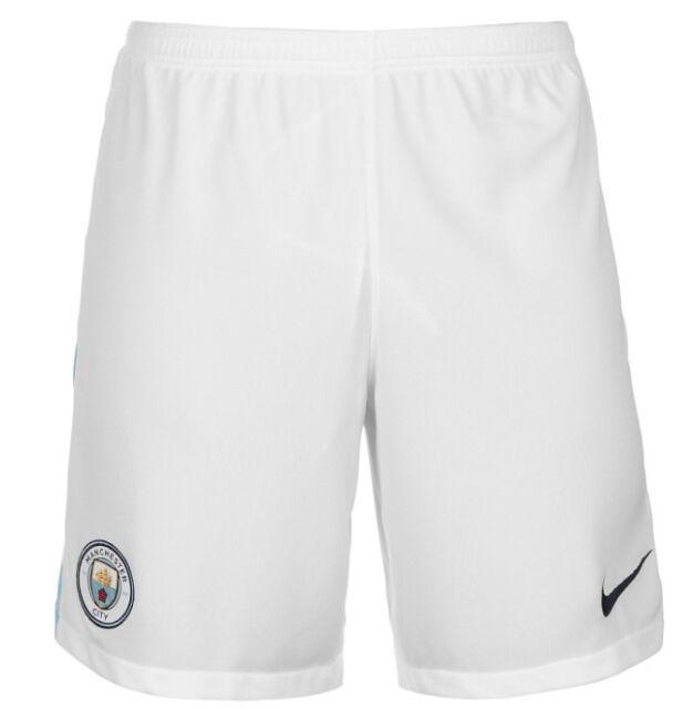 8962b1c5e Nike Manchester City Mens Home Shorts Sz 2xl White 2017 18 Football ...