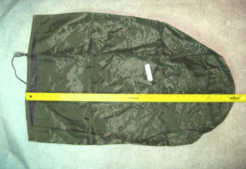 """MINT ARMY WATERPROOF CLOTHING BAG MILITARY WET WEATHER LAUNDRY GEAR 29/"""" x 16/"""""""