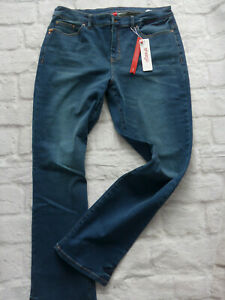 Sheego-Jeans-Trousers-Ladies-Size-44-to-52-Blue-Blue-746-New
