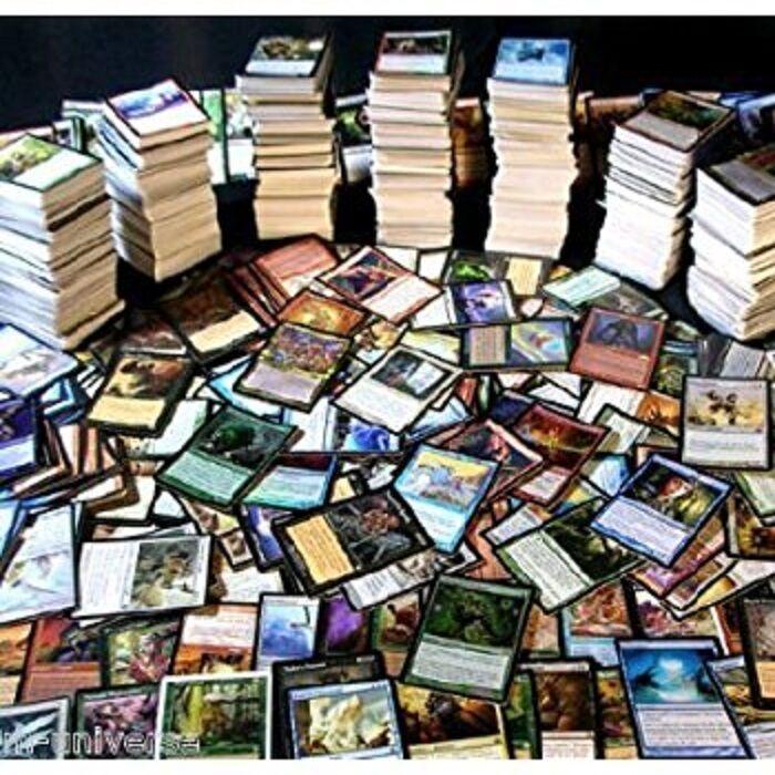 5000 mtg - karte viel - folien - rares - uncommons - commons - magic  the gathering