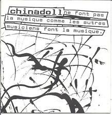Chinadoll, WAY RARE 1993 demo EP! Michigan new-wave, experimental rock, mint CD