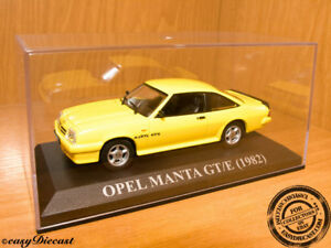 image is loading opel-manta-gt-e-gte-yellow-1982-1-