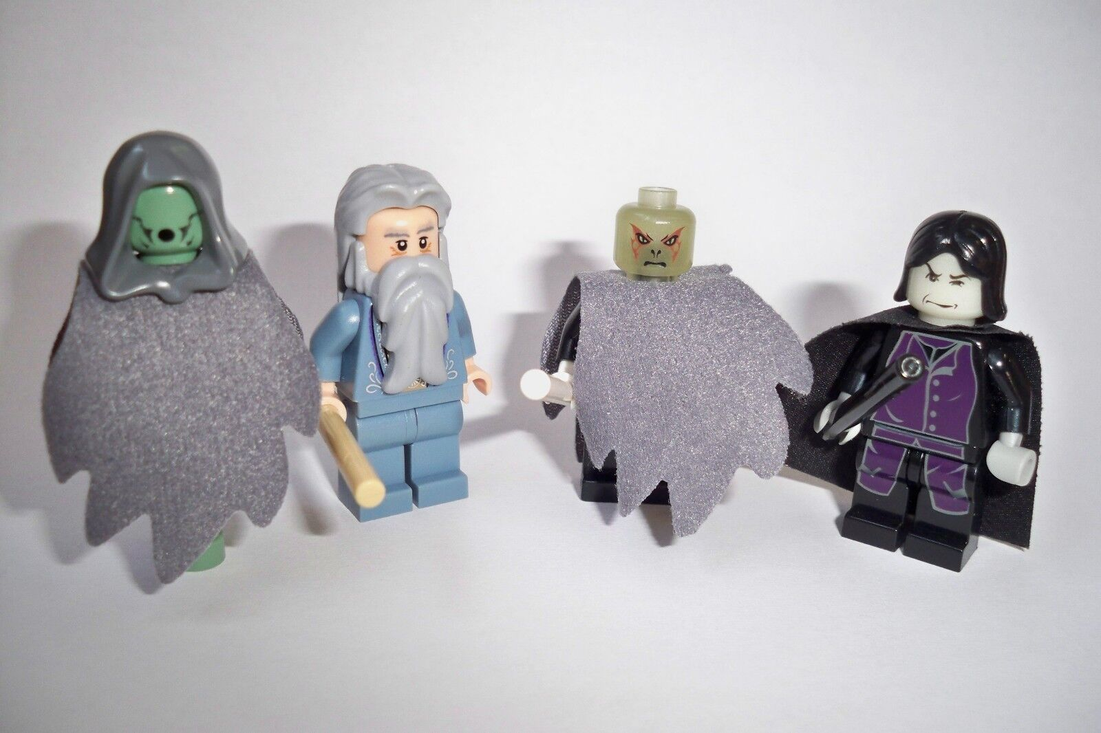 Lego Harry Potter, personnage, personnages, 4 unités, Dumbledore, CHASSÉ, Voldemort