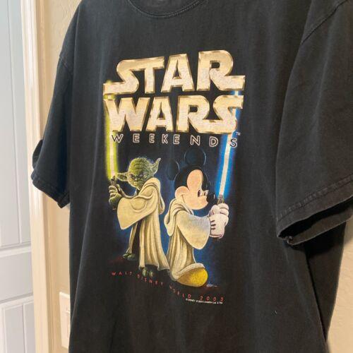 Vintage Star Wars Shirt 2003 Star Wars Weekends