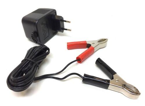 Chargeur de batterie pour 12v 0,5a Chargeur de batterie 50ccm mobylette Mokick moto
