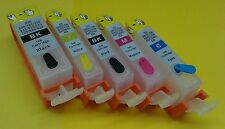 5 Empty Refillable Ink Cartridges for Canon PGI-225 CLI-226 MG6250 MG8120 MG8150