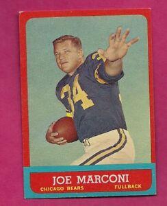 1963-TOPPS-66-BEARS-JOE-MARCONI-EX-MT-CARD-INV-A4034