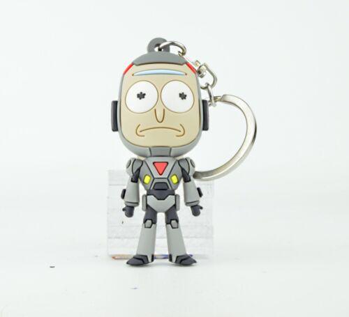 Adult Swim Rick and Morty 3 pouces figurées Key Chain-Mech Rick