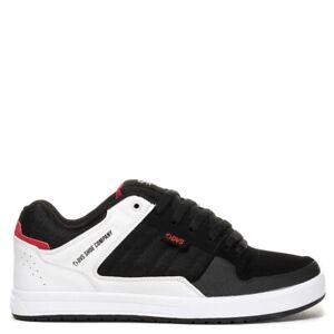 DVS-Shoes-Portal-black-white-red-Nubuck-Skate-BMX-MX-NEUWARE-Gr-46-SALE