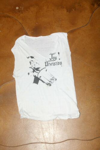 Joy Division 1980s Paper Thin Single Stitched Slee