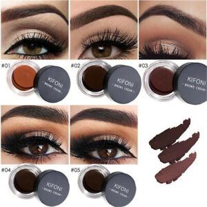 Eyeliner-Gel-Eyebrow-Cream-Waterproof-Long-Lasting-Makeup-Cosmetic-Brush-Set