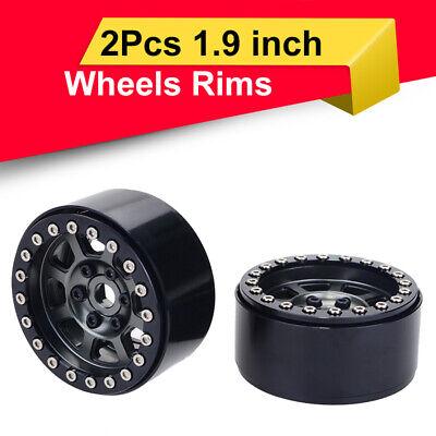 4-Pack Heavy Aluminum Alloy RC Crawler 1.9 Beadlock Wheels 12mm Hex Hub Width:25mm