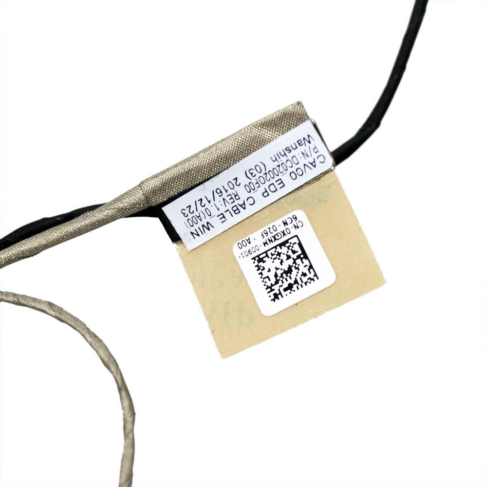 LCD LVDS VIDEO CABLE FOR Dell Latitude 3180 3189 13 7350 DC020020F00 XGXNM 0XGXN