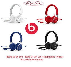 Beats EP On Ear Headphones Wired-Black/Red/White/Blue-Beats by Dr Dre - Warranty