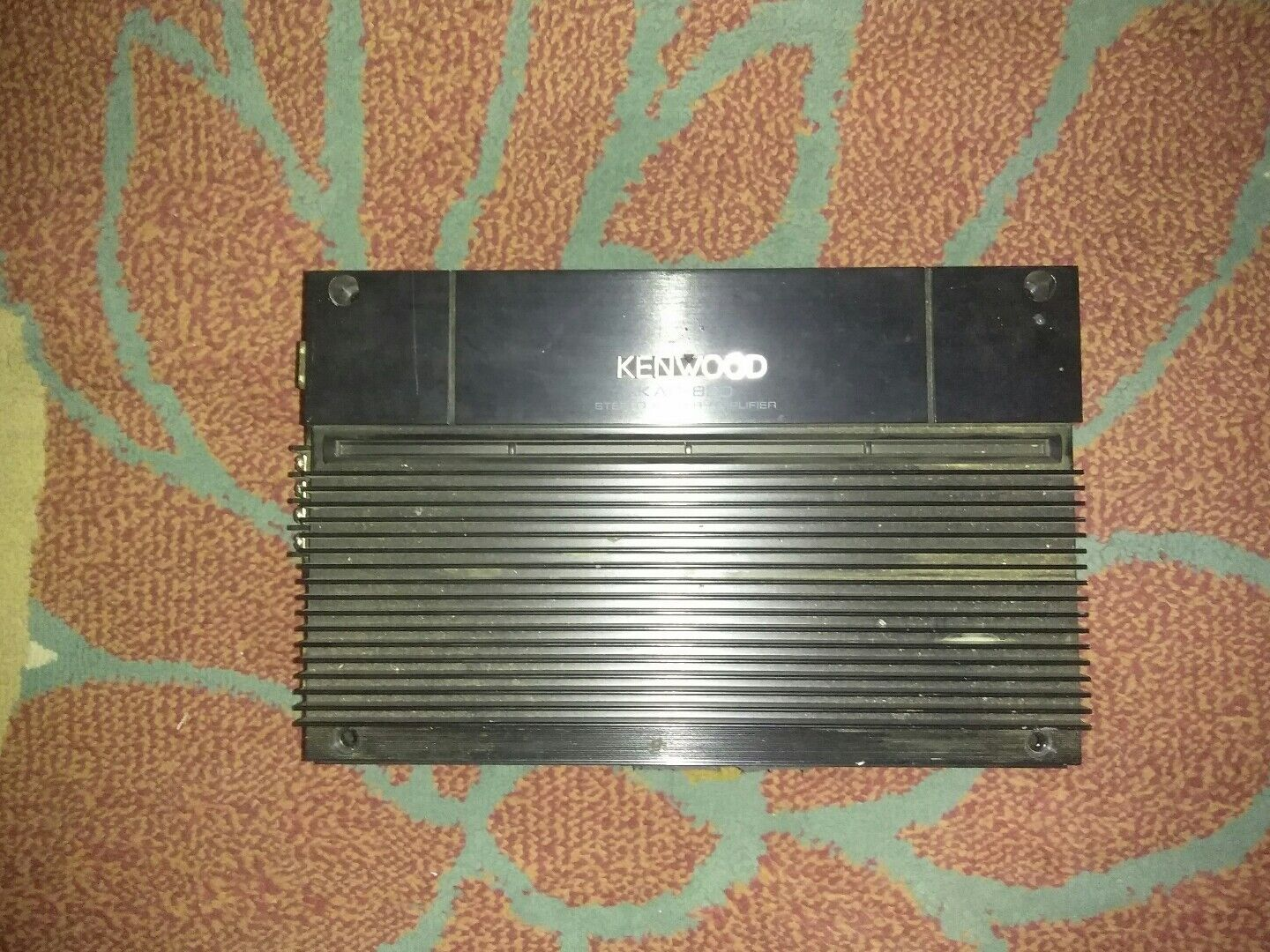 Old School Power Kenwood Amplifier Kac 424 20w X 2 For Sale Ebay