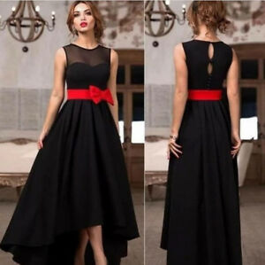 Glamorous Black Evening Prom Gown Girl