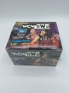 1998 Topps WCW / NWO Wrestling Series 1 Hobby Box 18 Sealed Pack Lot