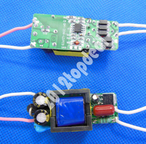 Constant Current Driver for 6-10pcs 3W High Power LED AC85-265V 600mA