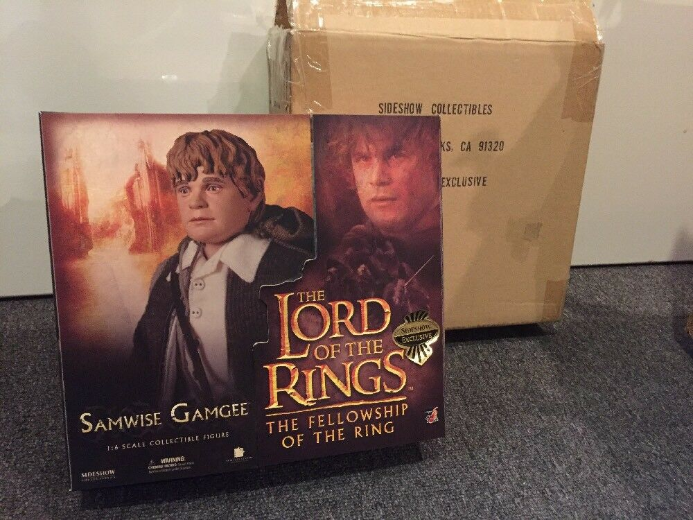 Lord Of The Rings Fellowship Of The Ring Sideshow Samwise Gamgee 1:6 Hot Toys