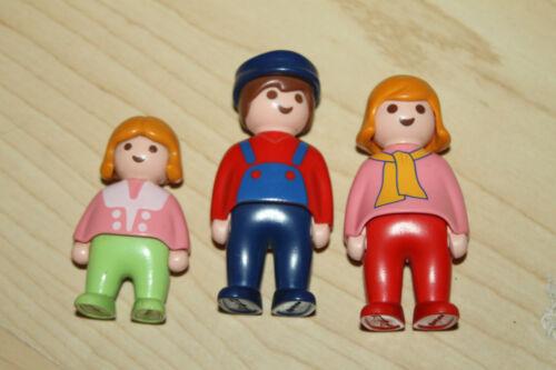 Playmobil 123 First smile 1.2.3.Figuren Mutter, Vater und Kind