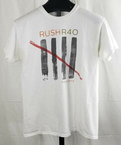 RUSH R40 2015 Tour Shirt Size Medium