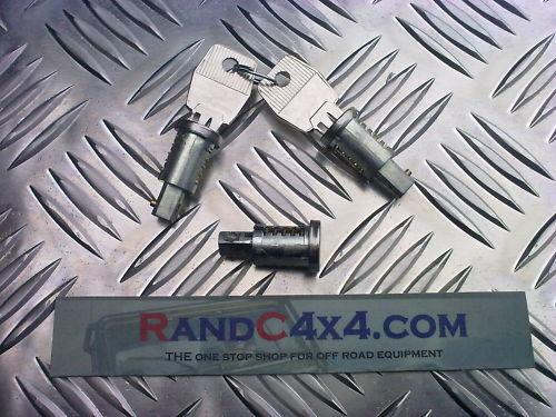 Land Rover Defender 3x Door Barrel Lock Set MTC6504