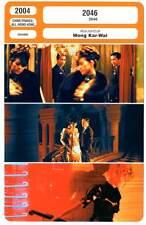 2046 - Tony Leung,Zhang Ziyi,Wong Kar-Wai (Fiche Cinéma) 2004