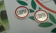 John Cooper Rover Classic Mini Enamel WIndow Winder Insert Badge S Works Mpi