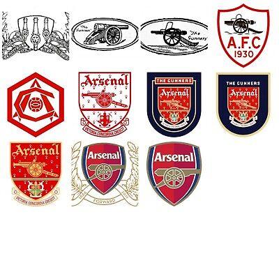 11pcs Arsenal Fc Logo History Fridge Magnets Ebay