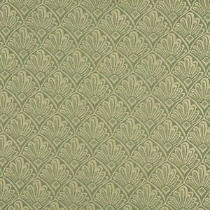A120 Light Green Two Toned Fan Upholstery Fabric By The Yard