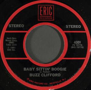 BUZZ-CLIFFORD-Baby-Sittin-039-Boogie-7-034-45-7-034