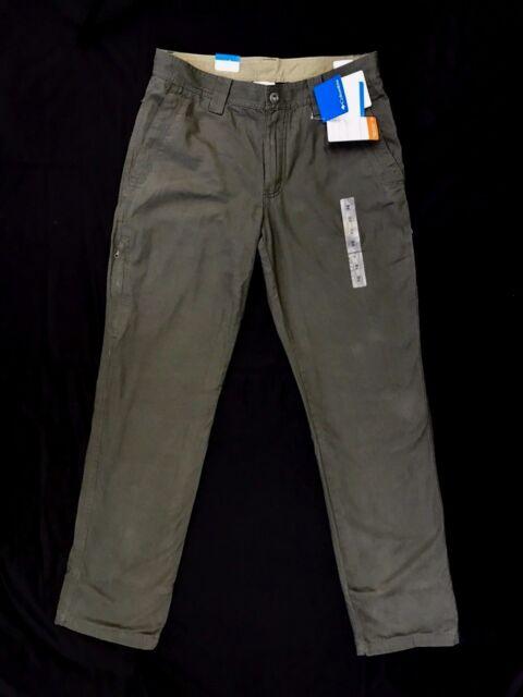 Columbia Men's Roc Lined 5 Pocket Fleece Lined Pants (Retail $65)