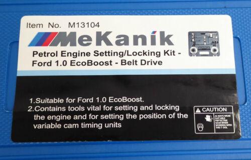 Focus Ford Ecoboost 1.0 Zeit Werkzeug Set Transit Mondeo Fiesta 13-17 12-18
