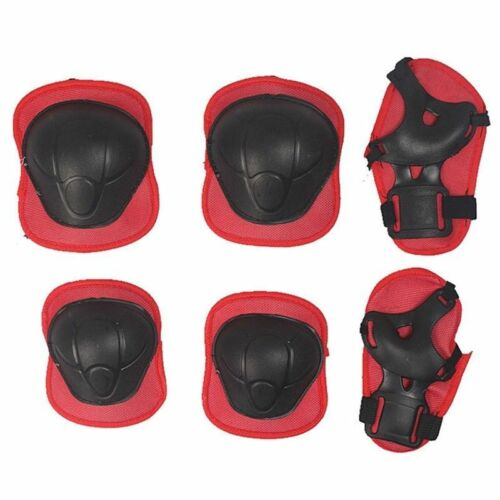 Kids and Teens Elbow Knee Wrist Protective Guard Safety Gear Pads Skate NZ